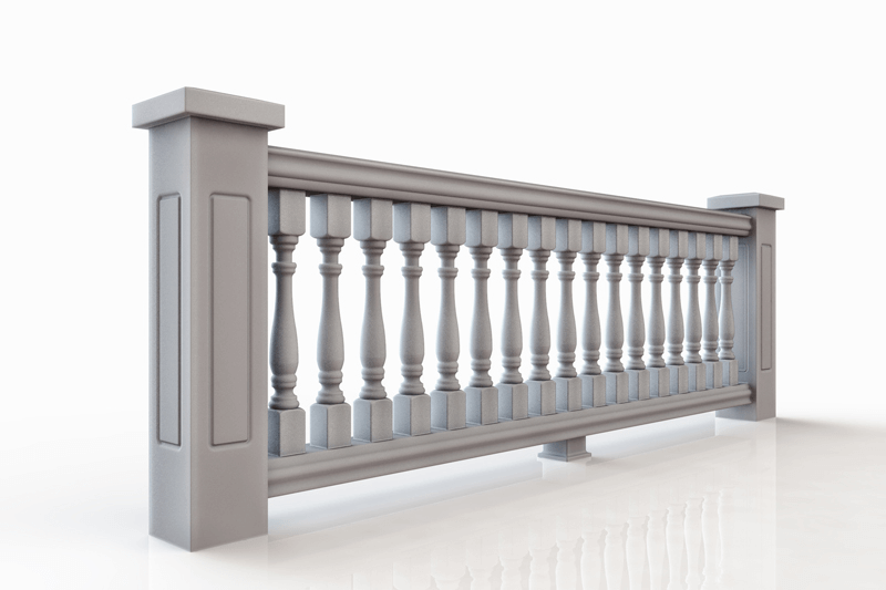 6 inch Polyurethane Balustrade