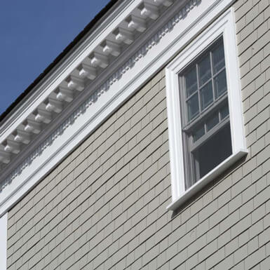 Exterior Cornice Crown Moulding