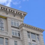 Fiberglass Cornice with Corbels and Balustrade System