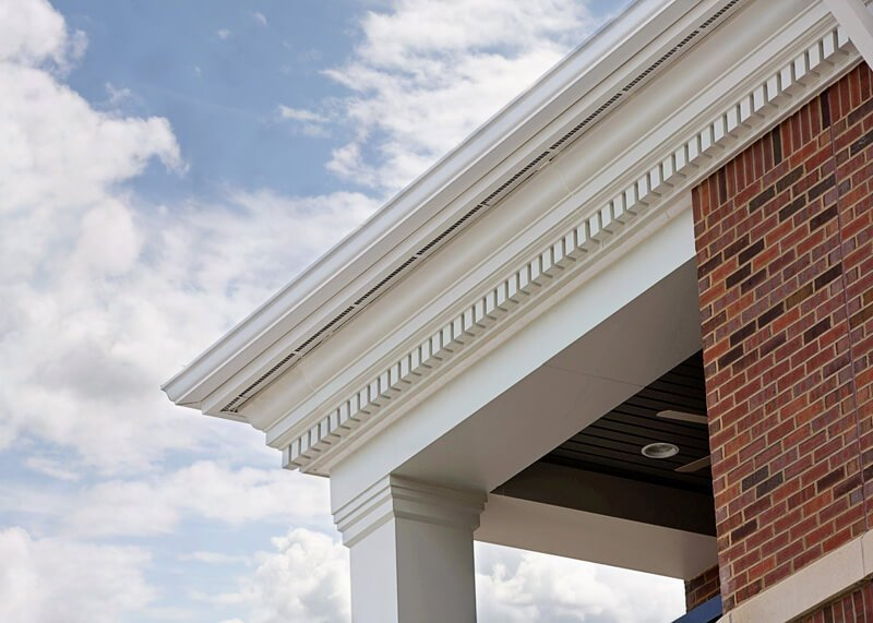 Pvc Exterior Dentil Moulding Pvc Exterior Trim Certainteed Houses With Dentil Moulding Google