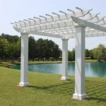 Pergola Kit with Square Columns