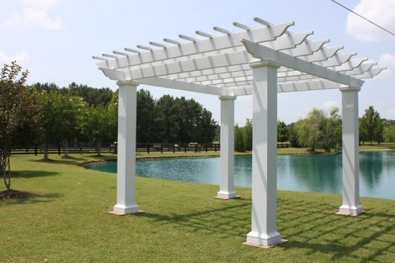 pergola kit with square columns - Pergola Kit