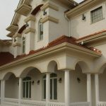 Synthetic Stone Columns And Balustrade