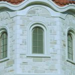 Synthetic Stone Radius Cornice