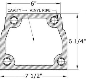 0431 Balustrade Bottom Railing