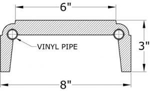 0455 Balustrade Bottom Railing
