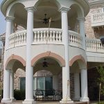 2 Story Architectural Columns
