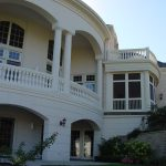 Curved Balustrade and Columns