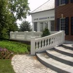 Curved Stair Deck Balustrade