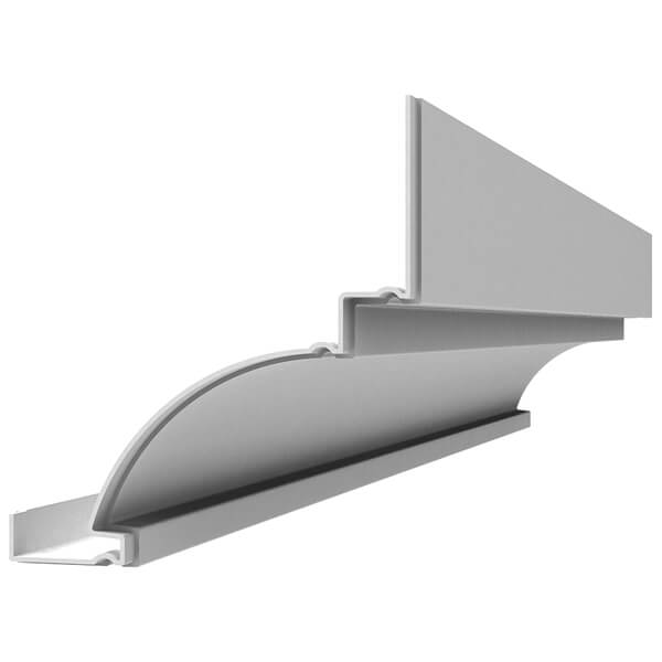 Fiberglass Cornice CR121x8