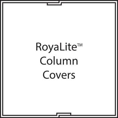 Fiberglass Square Column Cover