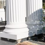 Fluted Columns Attic Base