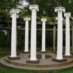 Free Standing Decorative Columns