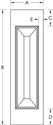 Newel Post Specification Drawing