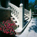 Radius Stair Exterior Balustrades