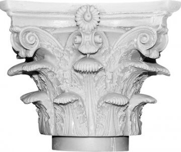Roman Corinthian Decorative Capital