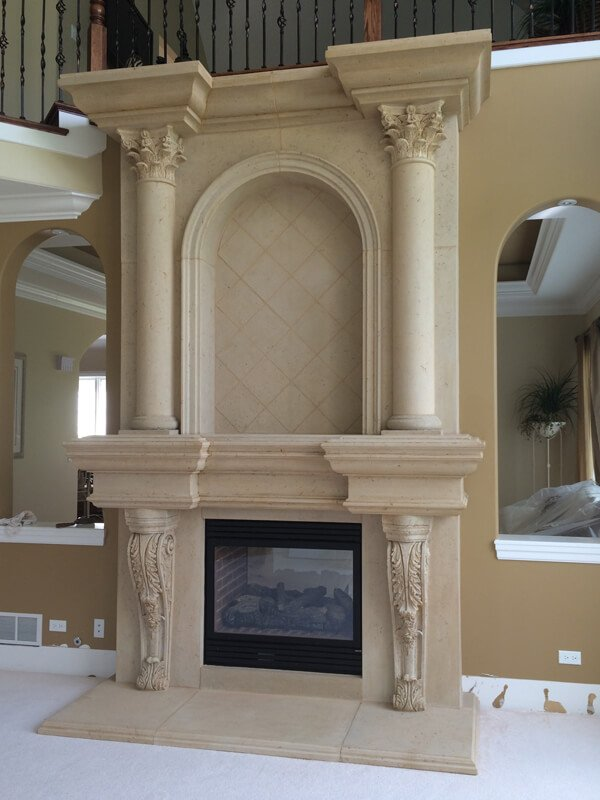 Pictures | Fireplace Surrounds | GFRC Fireplaces