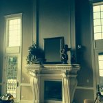 Fireplace Surround with Cladding