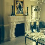Fireplace Surround with Corbel Legs