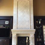 GFRC Two Story Fireplace