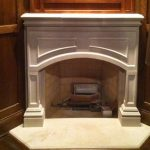 Reinforced Concrete Fireplace