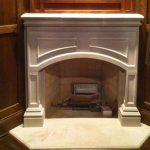 Reinforced Concrete Fireplace