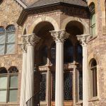 Fluted Portico Columns