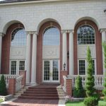 Fluted Scamozzi Columns