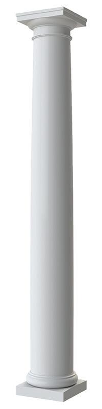 Round Tapered Plain Column