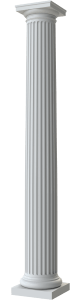 Round Tapered Fluted Column