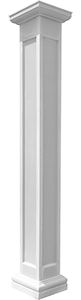 Square Non-Tapered Recessed Panel Column