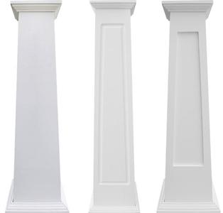 Craftsman PVC Column Wraps