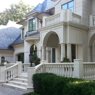 RoyalStone Polymer Stone Balustrade