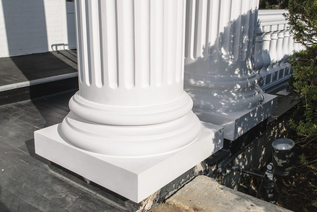 porch column replacement base