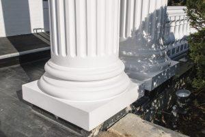 Replacement Fiberglass Column Base