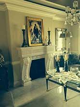 Cast Stone GFRC Fireplace Surround Nowabilski