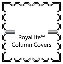 FRP Fluted Column Cover