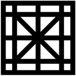 Diagonal Cross Balustrades