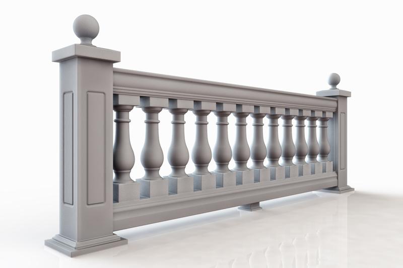 7 inch Polyurethane Balustrade